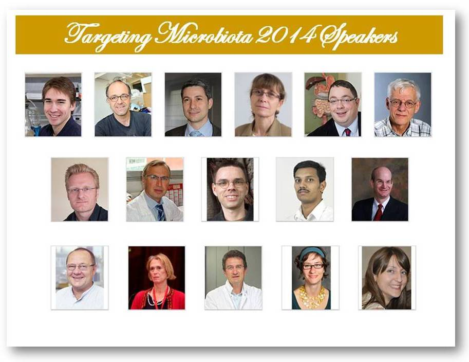Targeting Microbiota will gather high distinguished speakers