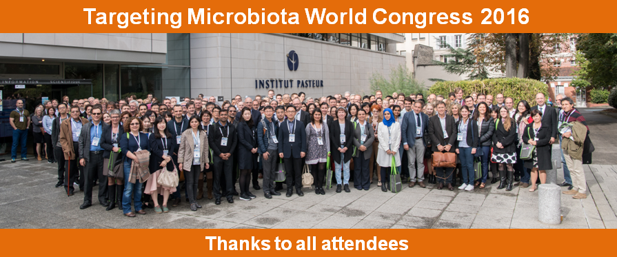 Targeting Microbiota 2016 Group picture