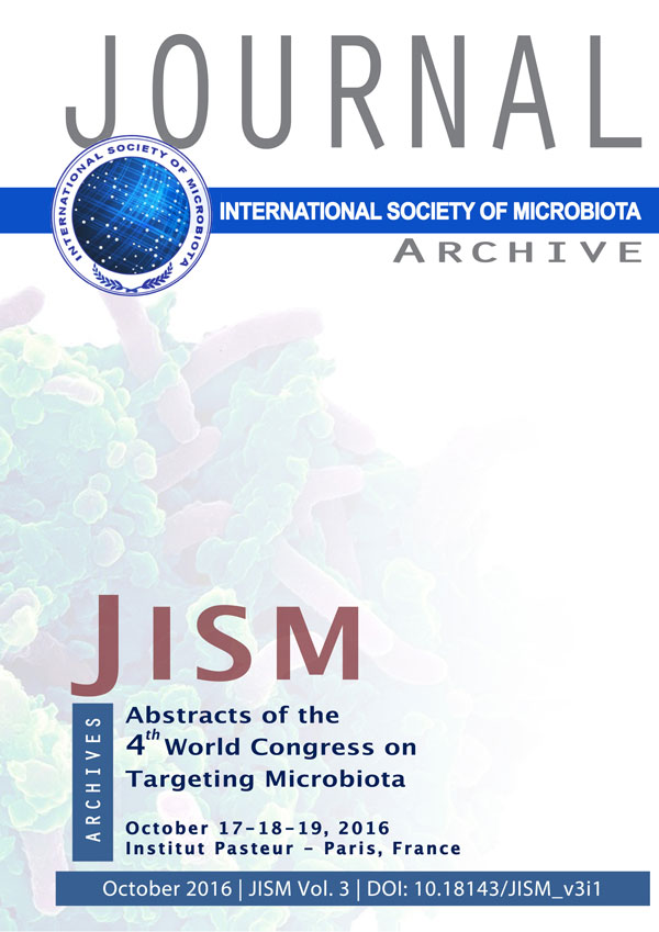 JIMS Microbiota journal cover