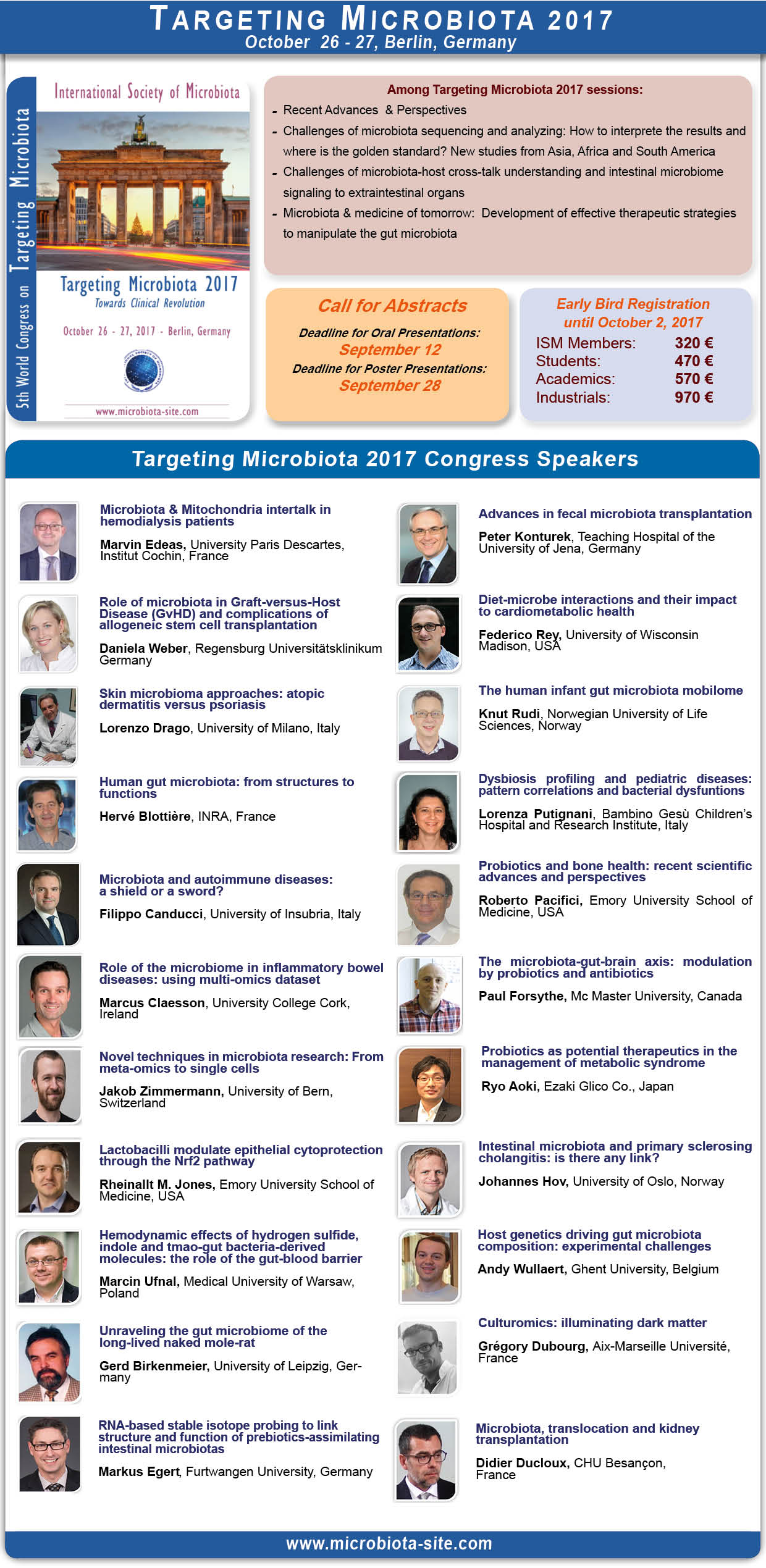 Targeting Microbiota Speakers cover 1408