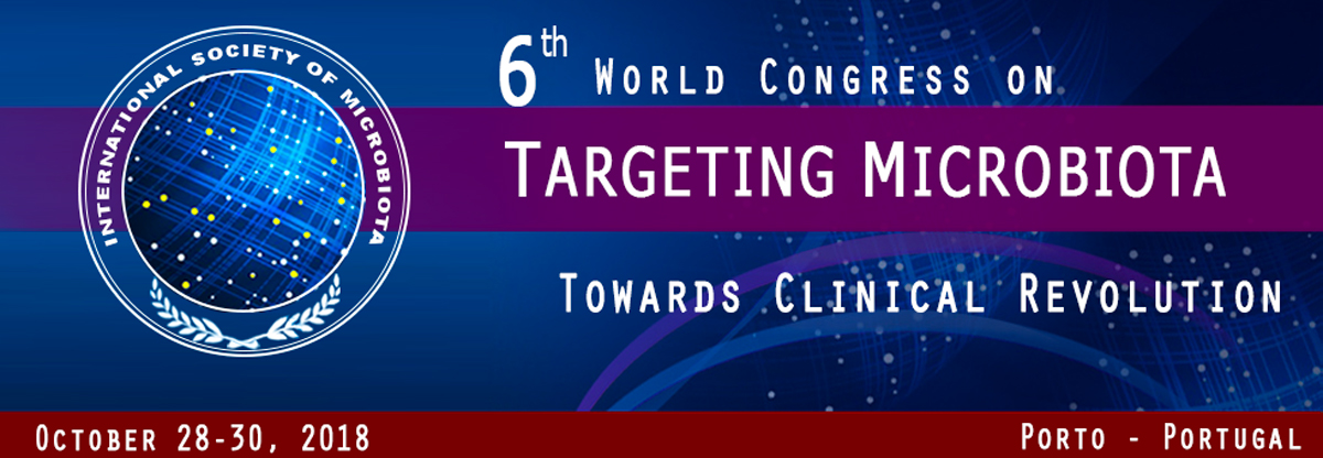 5th World Congress on Targeting Microbiota- October 26-27, 2017 - Microbiota-site.com
