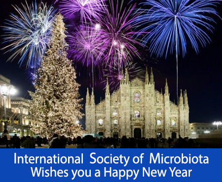 The International Society of Microbiota wishes a wonderful new year to all its members