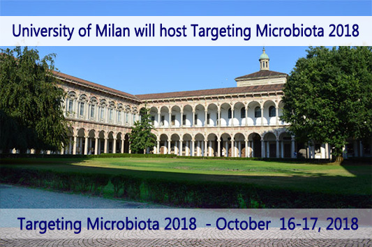 university of Milan targeting Microbiota 2018 venue