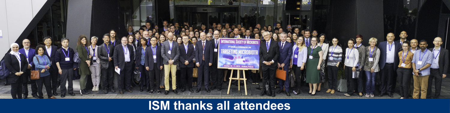Targeting Microbiota 2019 Congress group thanks