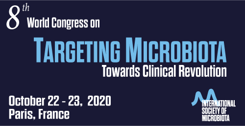 Paris will host the 8th World Congress on Targeting Microbiota 2020 on October 22-23