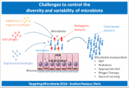 The Challenges to control the diversity and variability of microbiota